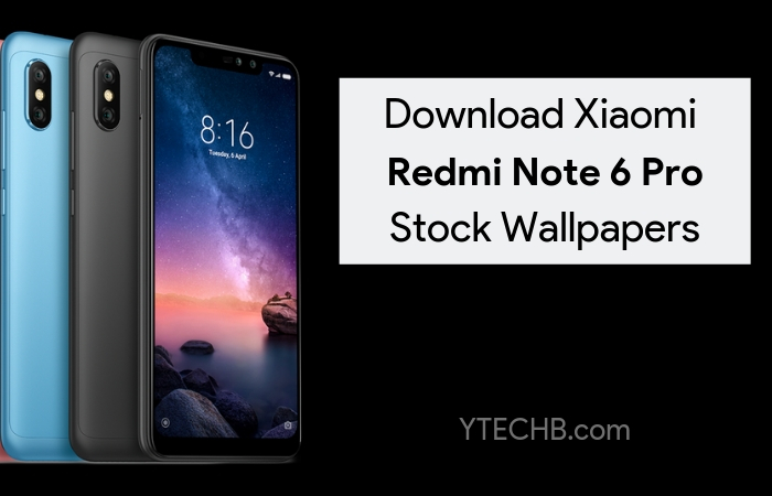 Download Xiaomi Redmi Note 4 Stock Wallpapers: Download Xiaomi Redmi Note 6 Pro Stock Wallpapers In Full