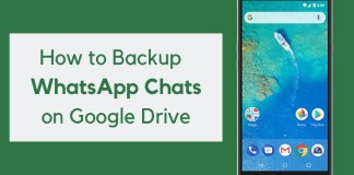 How to Backup & Restore WhatsApp Chats from Google Drive