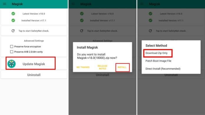 Download Magisk Manager