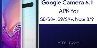 Download Google Camera 6.1 for Samsung S8