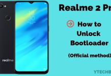 How to Unlock Bootloader of Realme 2 Pro