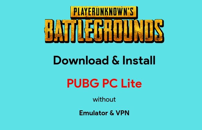 download pubg lite apk no vpn