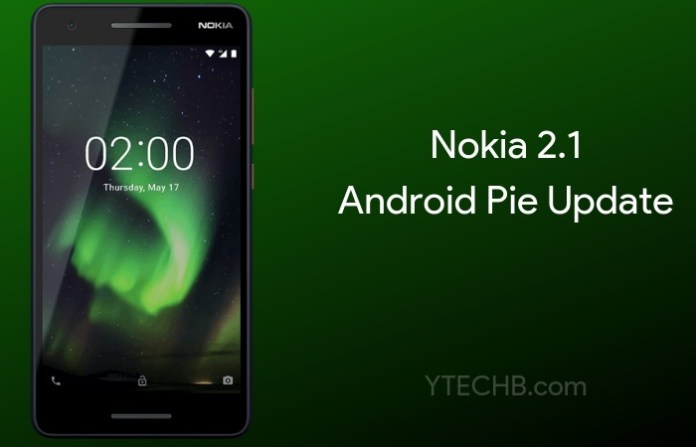 Download & Install Android Pie Update on Nokia 2.1