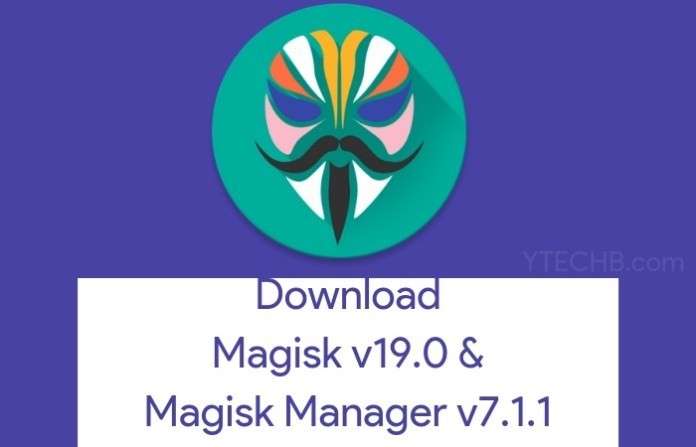 Magisk 19.0
