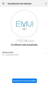 Huawei P10 Android Pie Update