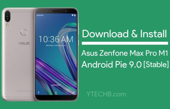 asus zenfone max pro m1 android pie release date
