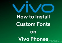 change fonts on vivo phones