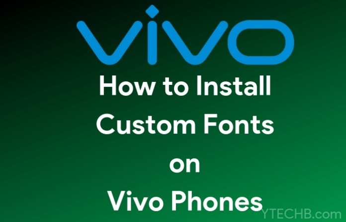 change fonts on vivo phones