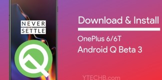 Android Q beta on Oneplus 6t