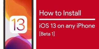 how to install iOS 13 beta on any iPhone