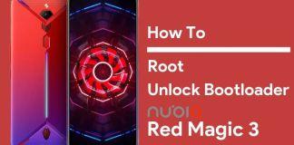root nubia red magic 3