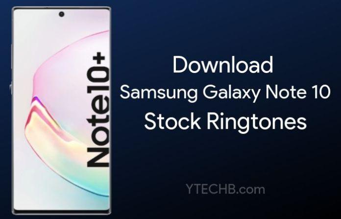 samsung galaxy note 10 ringtones