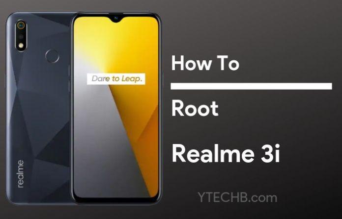 root realme 3i
