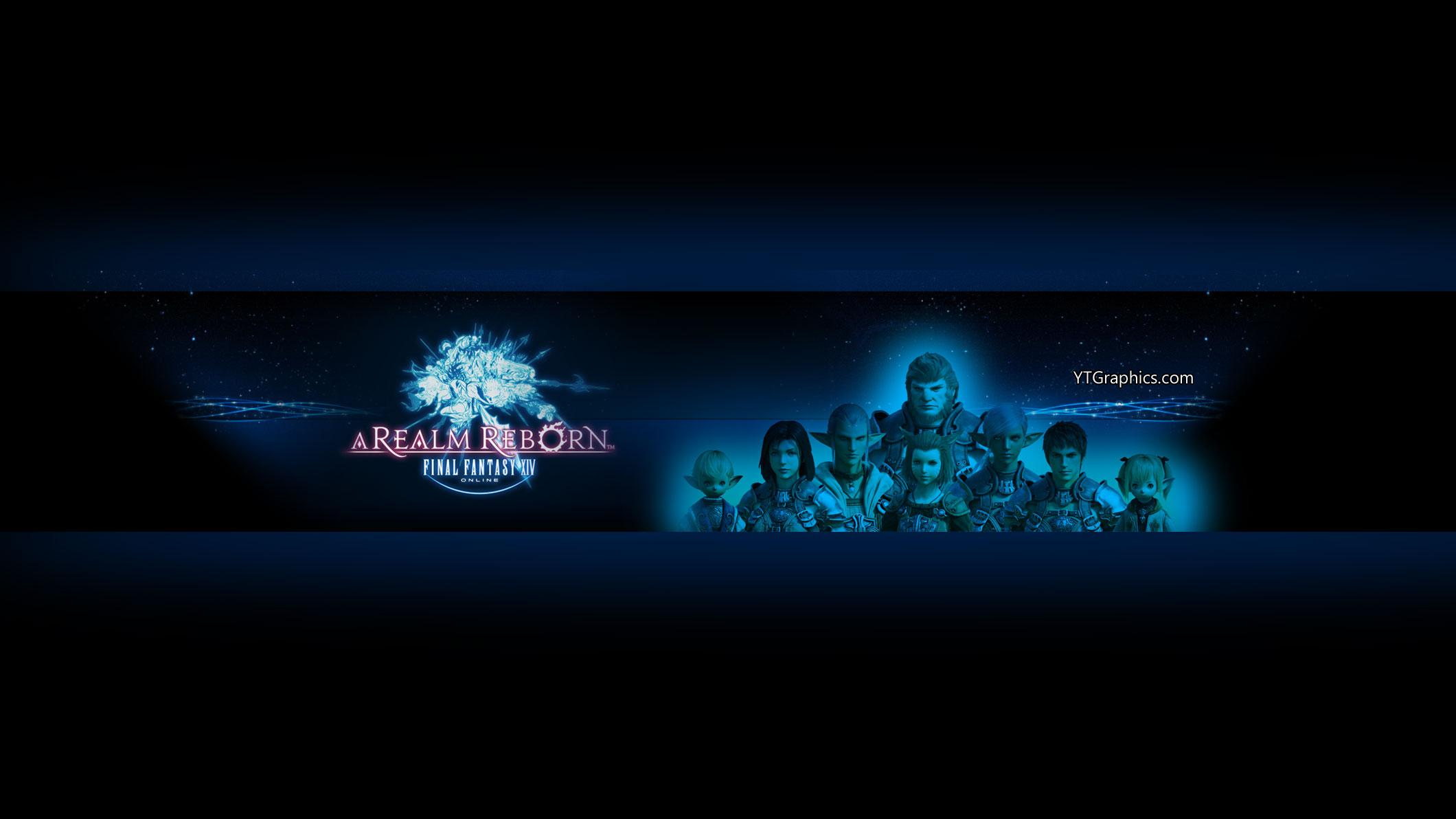 Final Fantasy XIV A Realm Reborn YouTube Channel Art Banner