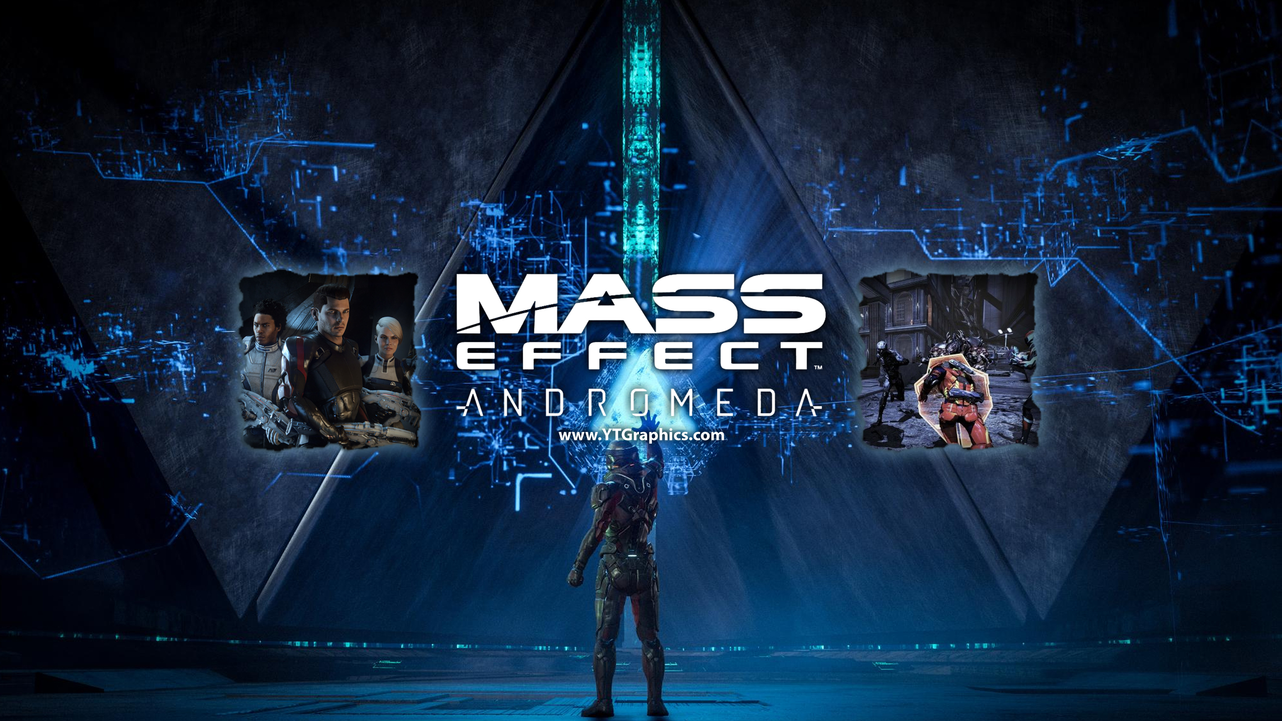 Mass Effect Andromeda YouTube Channel Art Banners