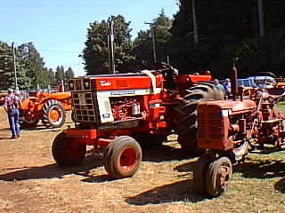 1086 International Harvester Wiring Diagram Antique Tractors International Harvester 1066 Picture