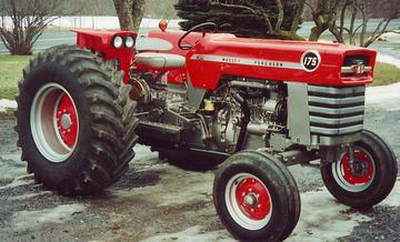 massey ferguson 175 parts diagram 2000 chevy silverado stereo wiring color code antique tractors 1969 diesel picture