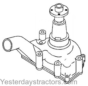 Oliver 550 Water Pump Hyster Water Pump Wiring Diagram