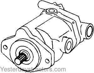 Oliver Hydraulic Pump for Oliver 1755,1855,1870,1955,White