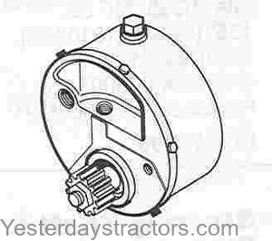 Massey Ferguson Power Steering Pump for Massey Ferguson