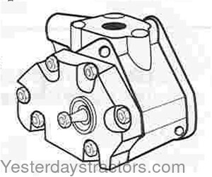 Case Hydraulic Lift Pump for Case 1190,1194,1290,1294