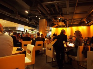 Interior at Zuma London