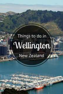 What to Do in Wellington New Zealand