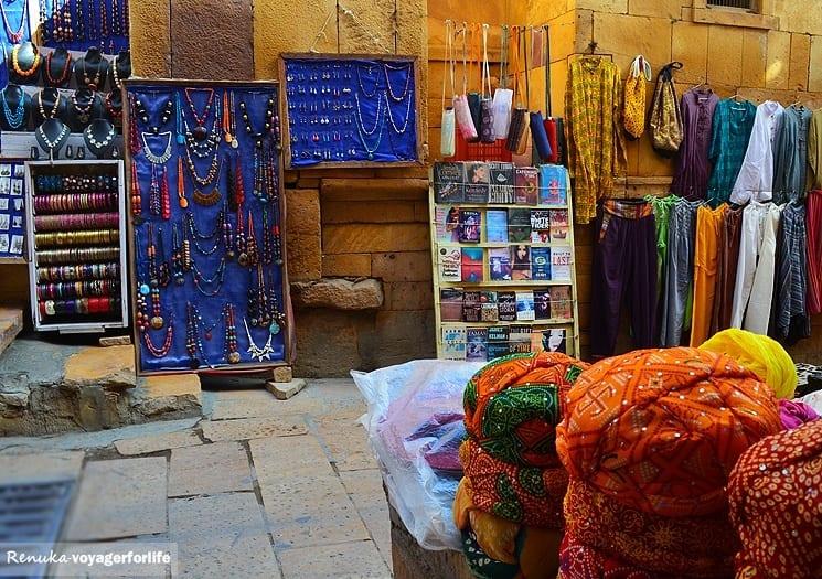 Jaisalmer Fort alleys