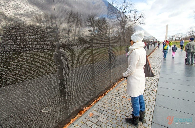 Vietnam War Memorial - Washington DC