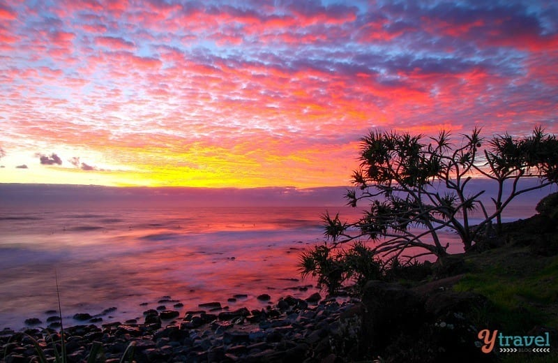 Sunrise at Burleigh Heads - Gold Coast, Queensland, Australia