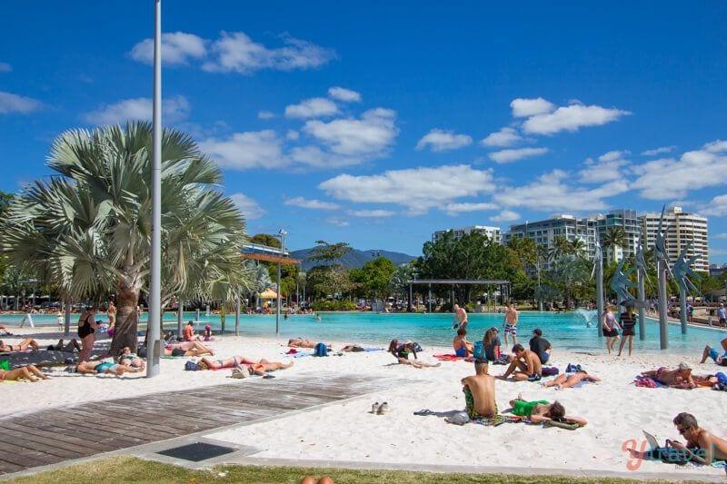 Cairns Lagoon, Queensland, Australia