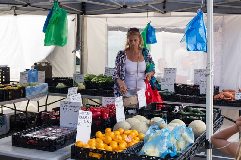The Burleigh Heads Farmers Markets
