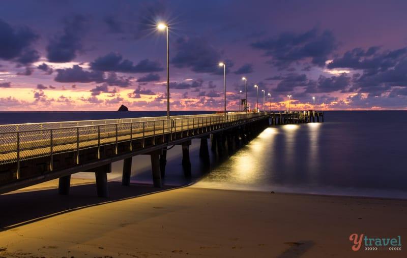 Palm Cove Jetty at Sunrise, Queensland, Australia