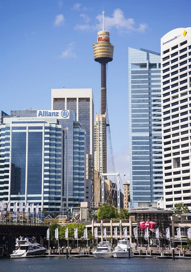 Going up to the top of Sydney Tower is one of the best things to do in Sydney with kids.