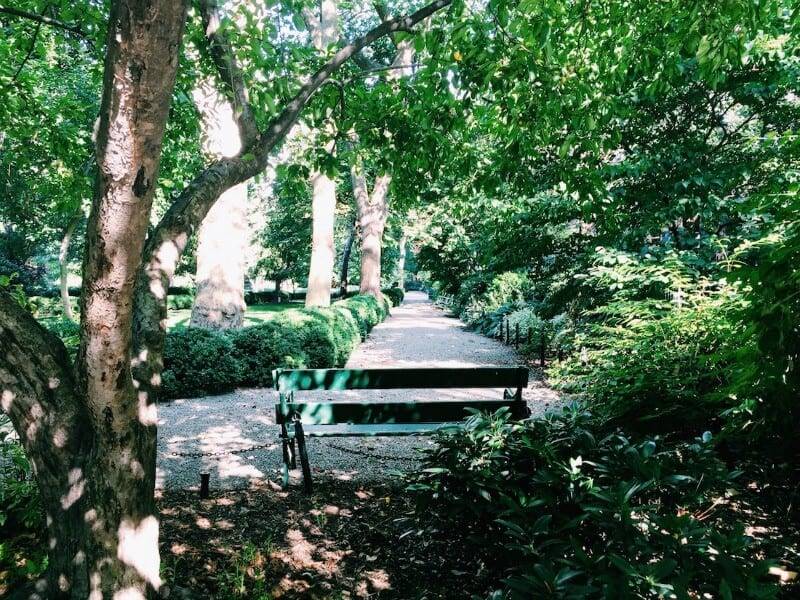 Gramercy Park - one of the best parks in NYC