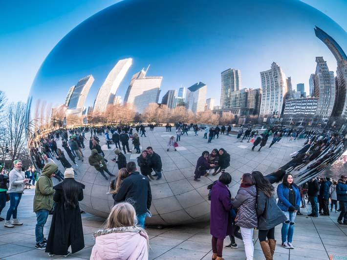 Cloud Gate Chicago Bean