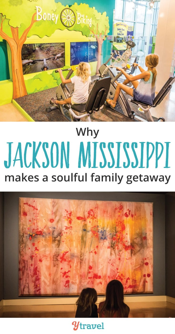 Why visit Jackson, MS with kids? Here are 6 reasons Jackson Mississippi is a soulful family getaway. Put it on your Deep South and USA road trip.