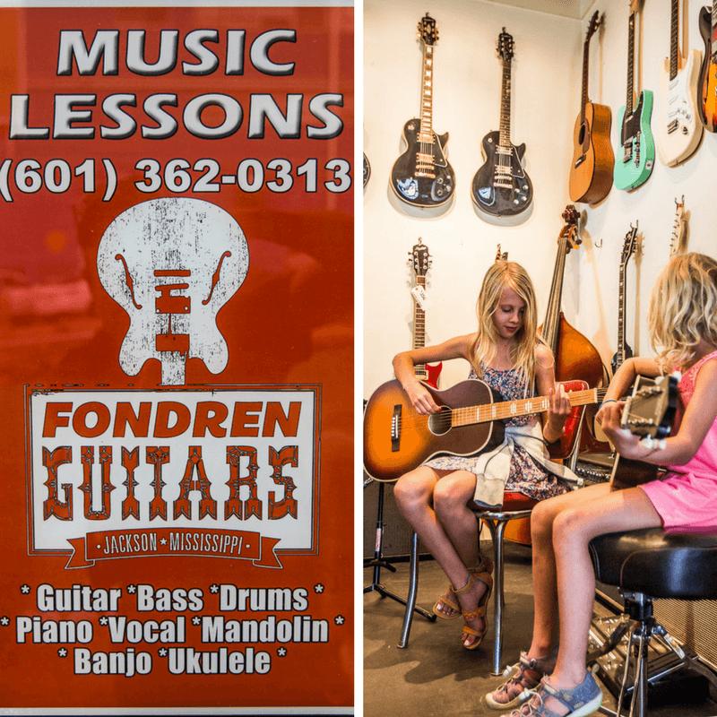 Fondren Guitars in Jackson, Mississippi