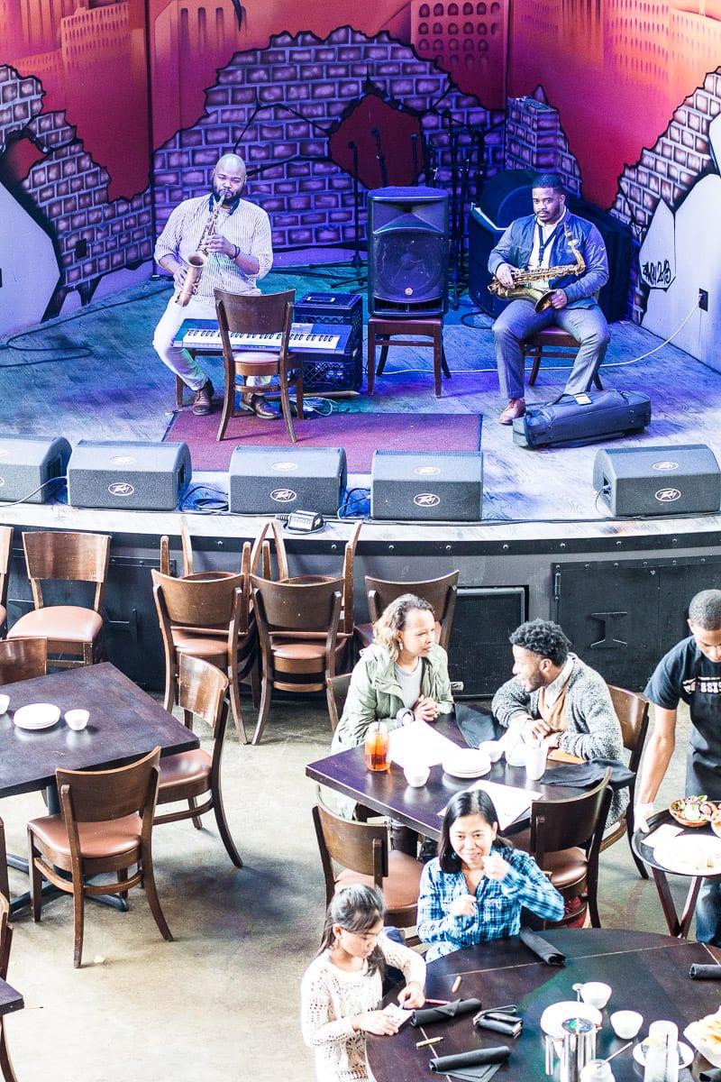 Jazz on Sunday's at the Iron Horse Grill, Jackson, Mississippi