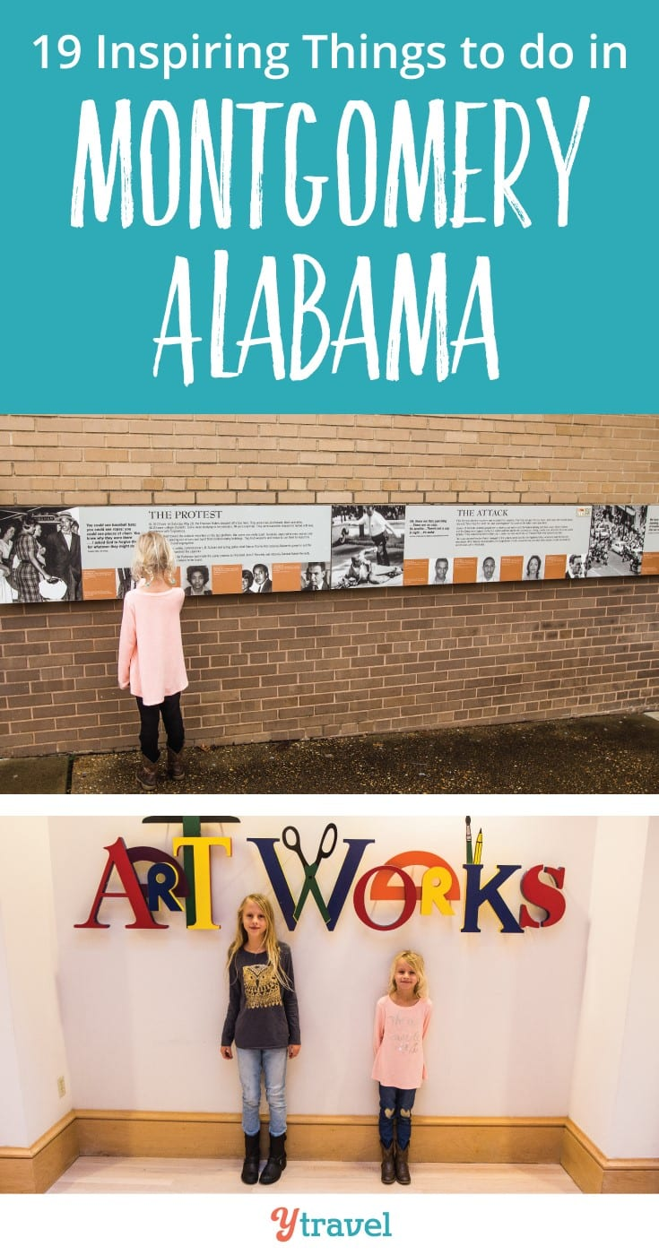 Things to do in Montgomery AL with kids. Check out these 19 Montgomery attractions - civil rights history, museums and tasty places to eat.