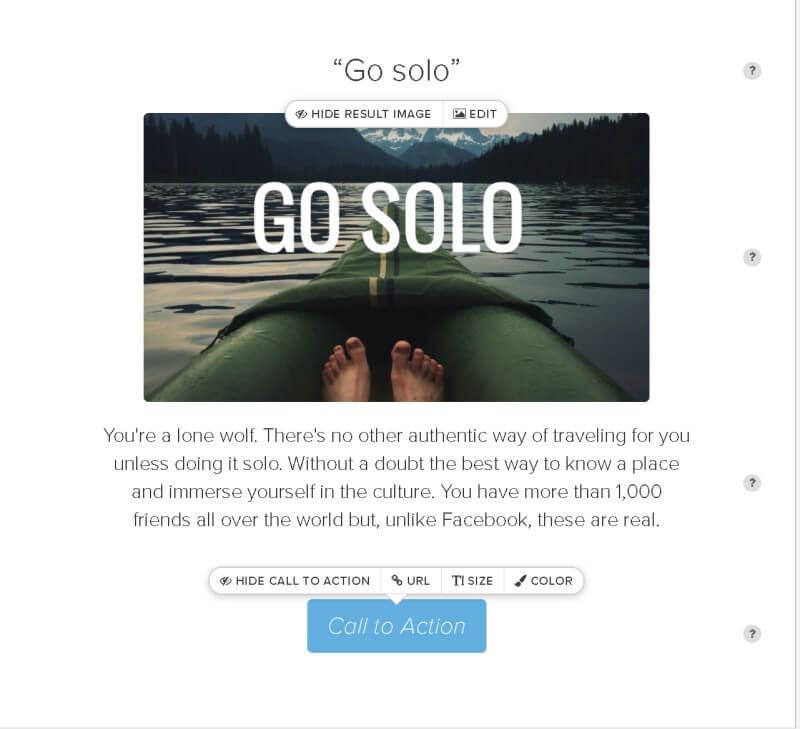 Go solo travel