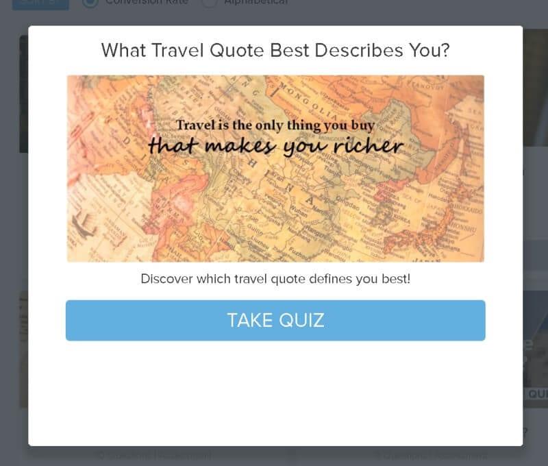Travel makes you richer quiz