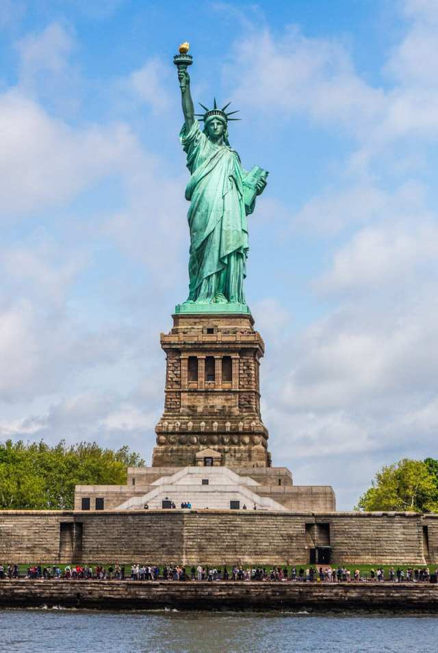 Statue of Liberty tour - one of the best things to do in New York City