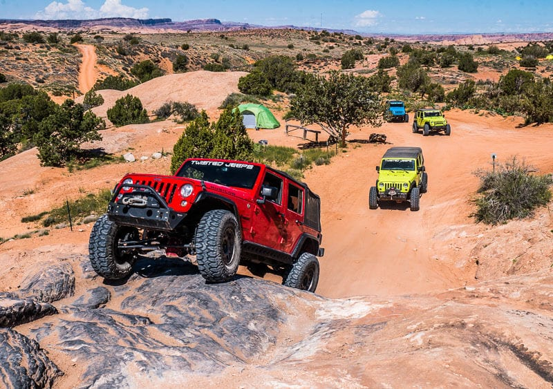 jeep tours in Moab Utah