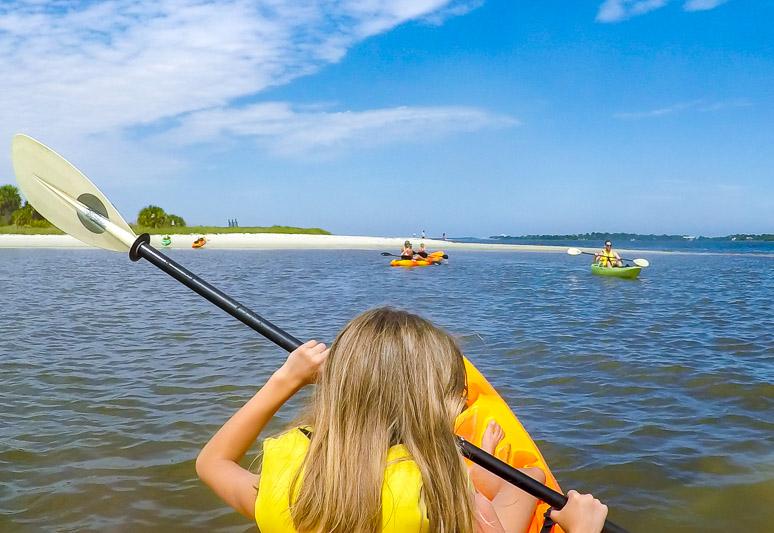 Cedar Key kayak adventures