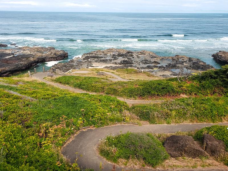 Thors Well Cape Perpetua Oregon Coast