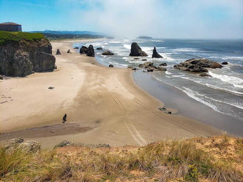 beach loop drive oregon coast