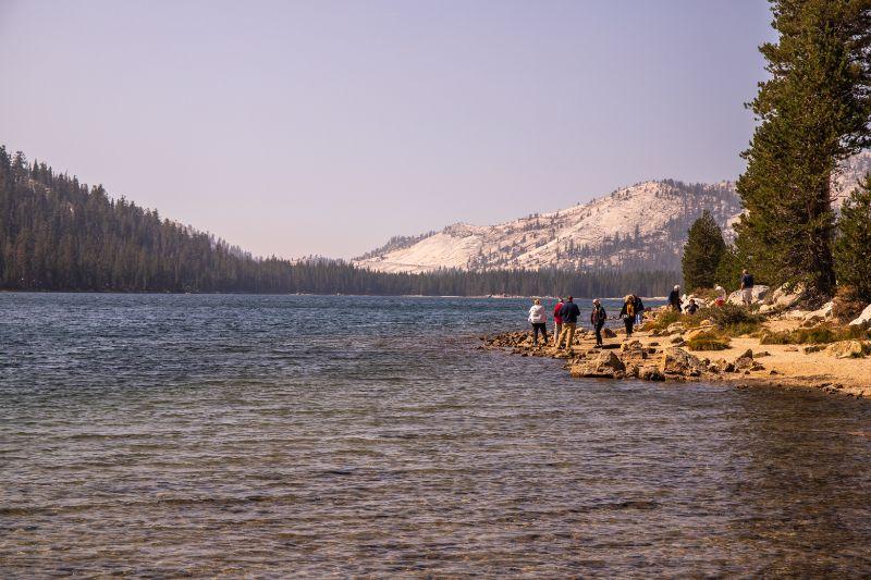 Tenaya Lake tioga pass yosemite California