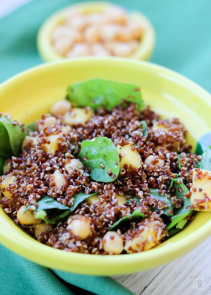 Ensalada quinoa y mango1