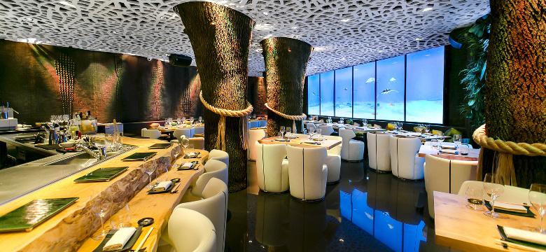 Yubari Restaurante de lujo  moda Japons en Barcelona
